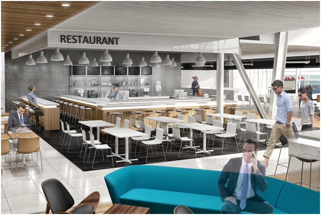 Why are more restaurants choosing open plan